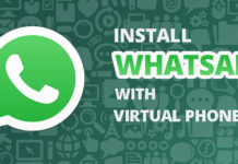 virtual phone number for whatsapp