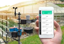 weather station for farm