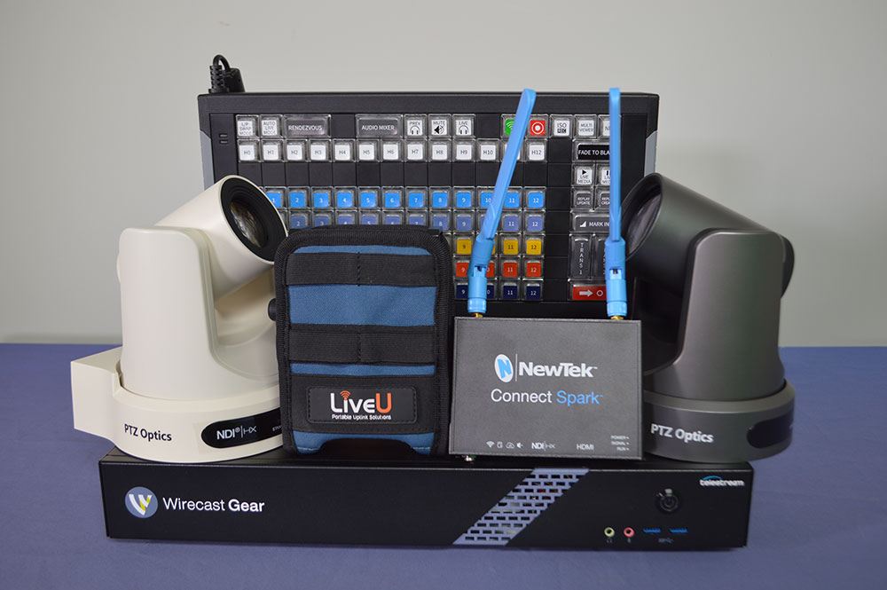 New Live Streaming System for Multiple Cameras from