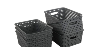 Baskets for Clutter-Free Space